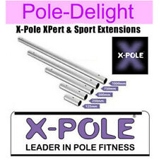 X Pole Chrome Extensions For 45mm Diameter X-Pole XPert And Sport.