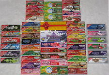 Juicy Jays, Skunk, Hornet Flavoured Tobacco Cigarette Rolling Papers Hemp Wraps