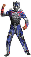 Transformers 3 Dark of the Moon Optimus Prime Muscle Child Boy Costume Halloween