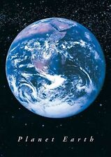 New Planet Earth Earth from Space Poster
