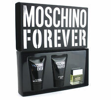 Moschino Forever Gift Set for Men-3 items: Perfume, Shower Gel, Aftershave Balm