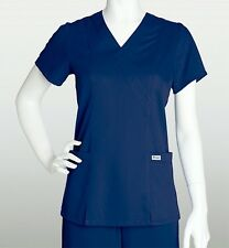 Grey's Anatomy 41101 Scrub Shirt Top Indigo XS-2XL Brand New!