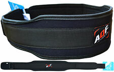 AQF Weight Lifting Belt Gym Back Support Power Training Work Fitness Lumber Pain