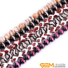 "10mm Colorful Agate Gemstone Round Beads For Jewelry Making Strand 15"" Yao-Bye"