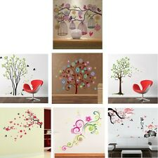 Nature Style Colorful Wall Decals Removable Mordern Mural Stickers Home Decor