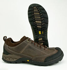 CAT (CATERPILLAR) SIDESHIFT STEEL TOE WATERPROOF BROWN LEATHER WORK SHOE P90225