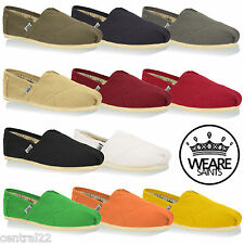 Men's Espadrilles We Are Saints Designer Pumps Canvas Plimsolls Beach New Summer