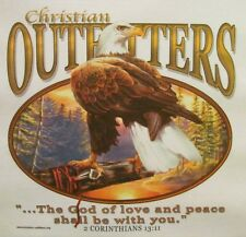 CHRISTIANS OUTFITTERS THE GOD OF LOVE & PEACE INSPIRATIONAL JESUS SHIRT #1195