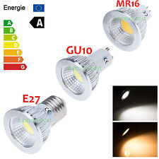 Dimmable 6W 9W 12W GU10 E27 MR16 COB LED Bulbs Warm Cool White Spot Down Lights