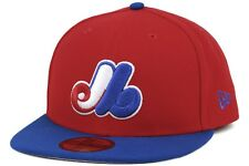 New Era Patchteam Redu MLB Montreal Expos New Mens Red Blue Fitted Caps Hats