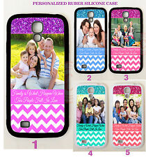 PERSONALIZE CUSTOM IMAGE PHOTO CHEVRON CASE For Samsung Galaxy S5 S4 S3 NOTE 4 3