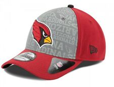 New Era NFL ARIZONA CARDINALS Authentic 39THIRTY Draft 2014 Stretch Fit Cap NEU/