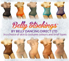 XS Belly Stocking™ Dance Under Wear Power Mesh Control Tummy Cover Tights Girdle