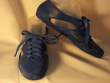"""Womens Blue Waterproof Design Fashion Sneakers  and Fun NEW sizes 5-10 """"JUST IN"""""""