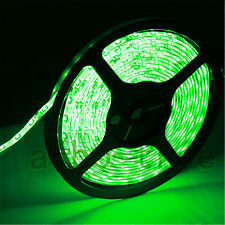 16.4ft 5m 300leds DC 12v Waterproof SMD 3528 Flexible led Strip light GREEN