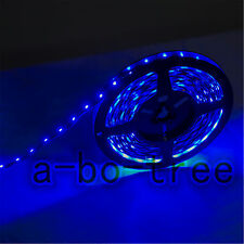 16.4ft 5m 60/m DC 12v Waterproof SMD 3528 Flexible led Strip light BLUE for Car