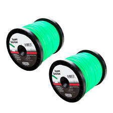 "Bulk Gatorline .080"" - .155"" GA Square Weed Whacker String Trimmer Green Line"