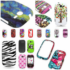 For Samsung Gravity Q - Hard Plastic Shell Custom Design Phone Cover Case