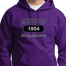 MADE IN 1954 Vintage Funny Gift Tee Birthday Fathers Mothers Hoodie Sweatshirt