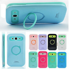 Iglow Dual Color Hybrid Stand Case For Samsung Galaxy Grand Duos i9082 i9080 New