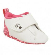 Lacoste Baby Kids Toddler Shoes PARIS BABE WUN White Pink Slippers 15 16 17 19