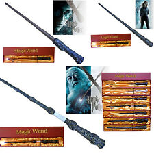Free Tattoo!Harry Potter Mad-Eye Moody Magical LED Light Up Wand Cosplay In Box