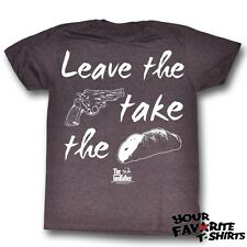 The Godfather Leave The Gun Take The Cannoli Licensed Adult T Shirt