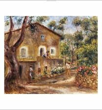 "PIERRE-AUGUSTE RENOIR ""Collette's House At Cagne"" print various SIZES, BRAND NEW"