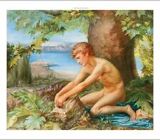 """HELEN THORNYCROFT """"The Trial of Theseus"""" NUDE male choose your SIZE, 55cm up"""