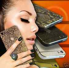 For Phone 5 5S 4 4S SNAKESKIN Edition Full Body Wrap Decal Sticker Protector APs