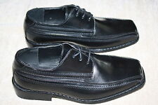 BOYS STACY ADAMS LACE UP DRESS SHOES~SIZES IN DROP DOWN BOX IN LISTING (D4)