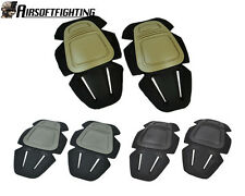3Color New Airsoft Tactical Paintball G3 Protective Knee Pads for Pant Tan/FG A