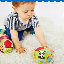 Infant Baby Toddler Kid Child Soft Stuffed Basic My First Little Ball Sports Toy