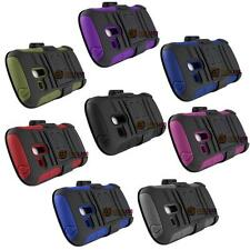 RUGGED ARMOR HYBRID CASE PHONE COVER W/ HOLSTER FOR SAMSUNG GALAXY S3 MINI i8190