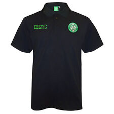 Celtic FC Official Football Gift Mens Crest Polo Shirt (RRP £24.99!)