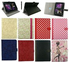 "Universal Multi Angle Wallet Case Cover Folio for 9.7"" and 10 inch Tablet"