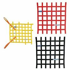 Sparco FIA Approved Window Net - 57x51cm - Race/Racing/Rally/Oval/Track
