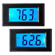 Hot LCD Blue Backlight Direct-current Digital Volt Meter Two-wire Voltmeter TR