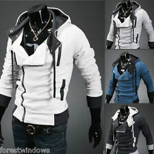 New Mens Assassin's Creed 7 Slim Fit Hoodies Sweats Costume Coat Jacket Cosplay