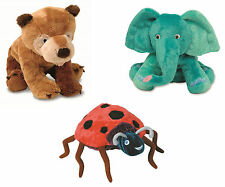 Brown Bear Lady Bug Elephant Soft Plush Toys - The World of Eric Carle Books