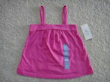New Baby GAP Girls Square Tank Top Shirt Pink 12 18 24 months 2T NWT
