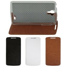 "4.7"" For Lenovo S820 Smart Cellphone PU leather Stand Flip Case Cover Multicolor"