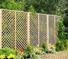Lattice outdoor timber Garden Trellis Panels, Fencing, treated and long lasting