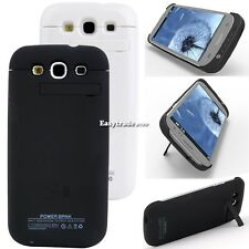 3200mAh Power Bank Backup Battery Charger Case For Samsung Galaxy S3 i9300  ESY1