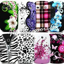 Floral Silicone Gel Case Cover Skin For Samsung Galaxy Fame S6810 S6810p