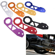 7 Color Universal Aluminum Rear Tow Hook Racing Towing Set Anodized New