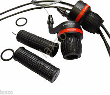 Ventura Twist Gear Shifter with Cables & Handlebar Grips Bike Cycle Bicycle