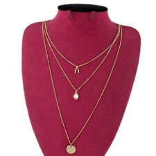 """16"""" New Forever21 Wishbone Multi-Strands Necklace Birthday Gift 2Colors Chosen"""