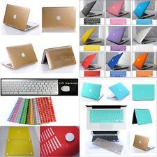 Laptop Rubberized Hard Matte Case Cover For MacBook Air/PRO/Retina/White11 13 15