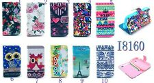 Tower OWL Clip PU Leather Case Flip Stand Wallet For SAMSUNG GALAXY ACE 2 I8160
